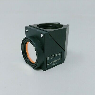 Olympus Microscope Fluorescence Filter Cube U-mgfphq