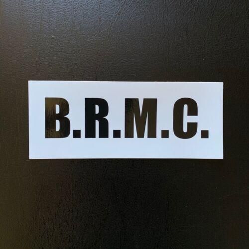 BLACK REBEL MOTORCYCLE CLUB  B.R.M.C PROMO STICKER BRMC