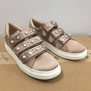 Brand new pink satin sneakers