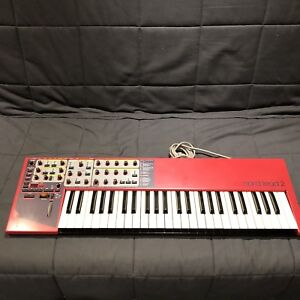 Nord lead 2 synthesizer.