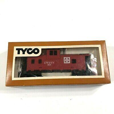 TYCO Tren Escala Ho Eléctrico Trenes Sante Fe 8 Rueda Rojo Cabús...