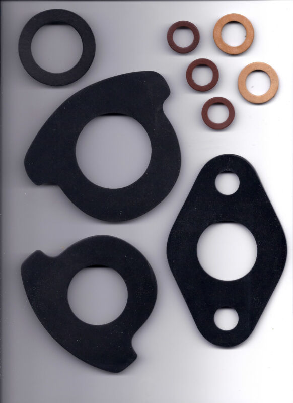 """3/4"""" LEATHER WATER METER COUPLING GASKETS  WASHER"""