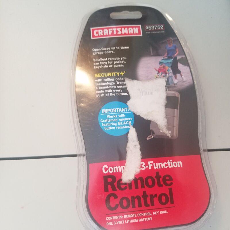 Craftsman 3 Button Garage Door Remote Control 139.53752 9.53752 53752