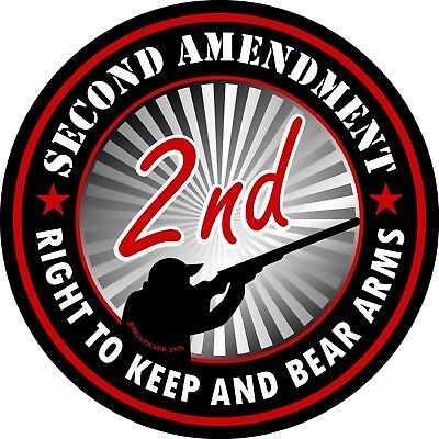 Second Amendment Right To Keep And Bear Arms - ProSticker 1126 (One) 4