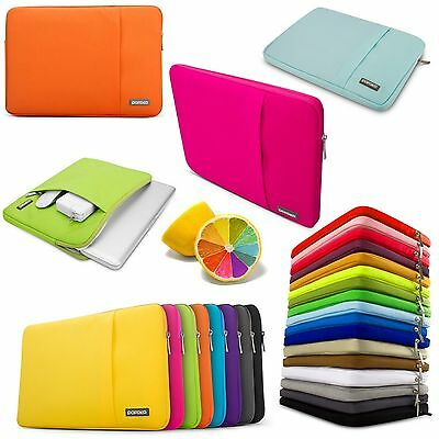 Laptop Soft Sleeve Bag Case Pouch For DELL HP ACER ASUS LENOVO MAC MACBOOK SONY