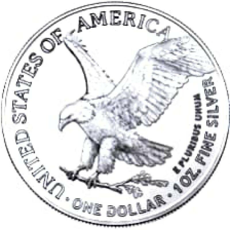2021 1oz *TYPE 2* American Silver Eagle PRE-ORDER 7/20 Est Shipping.