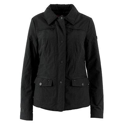 GEOX Damen Übergangsjacke W2421F Jacket Black Schwarz / 36 (it. 42) / Jacke