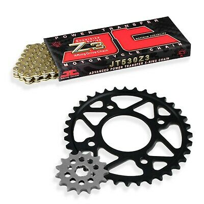 <em>YAMAHA</em> XS500 C ALLOY WHEEL 1977 530Z3 X RING JT GOLD CHAIN  SPROCKET