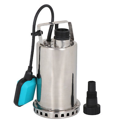 1HP Stainless Steel Submersible Sump Pump With Integrated Ve