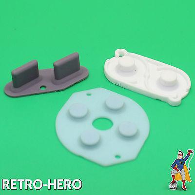 Game Boy Classic Gummi Pads Tasten Knöpfe Kontakte Ersatzteil Rubber Buttons