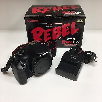 Canon EOS Rebel T2i / EOS 550D 18.0MP Digital Camera - Black