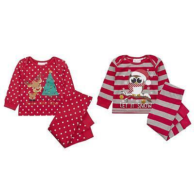 Babys Weihnachten Pyjama / Pj-Satz ~ 6-24 Monate