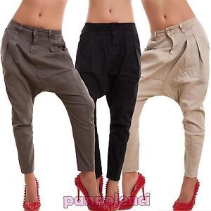Beautiful Zeta Ville - Womenu0026#39;s Low Crotch Treggings Pants Harem Trousers - Zipper - 927z | EBay