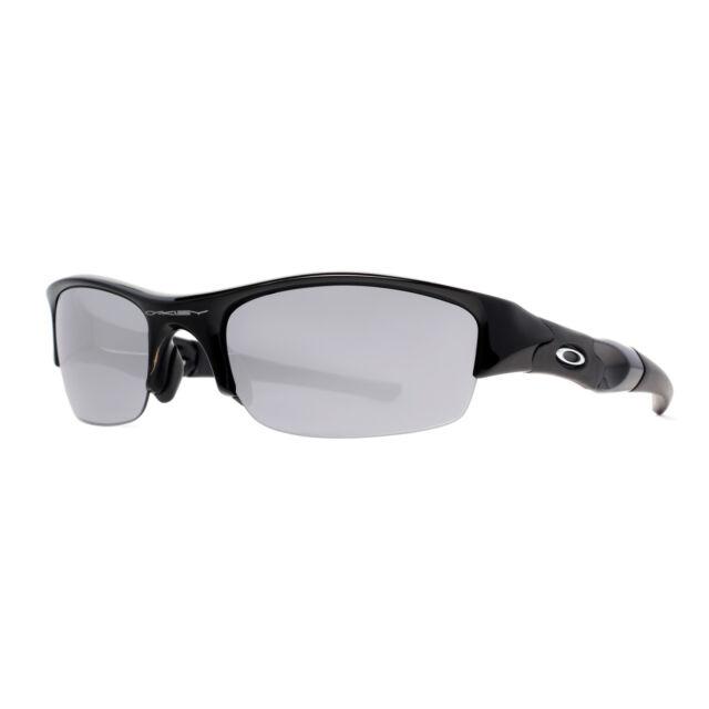bgqsh Oakley Flak Jacket 03-881 Jet Black Frame Black Iridium Lens