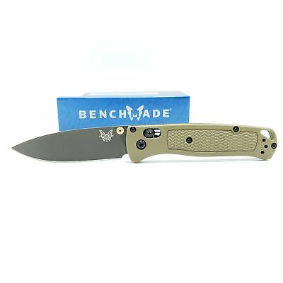 """Benchmade Bugout AXIS Lock Knife Ranger Green (3.24"""" Gray) 535GRY-1"""