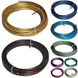 5mm-x-7-5m-Coloured-Aluminium-Craft-Modelling-Armature-Frame-Wire