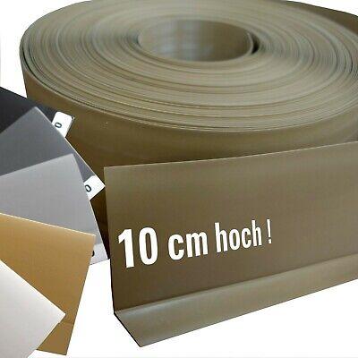 lleiste 10 cm PVC Sockelleisten - Band (auch selbstklebend) (Kunststoff-sockel)