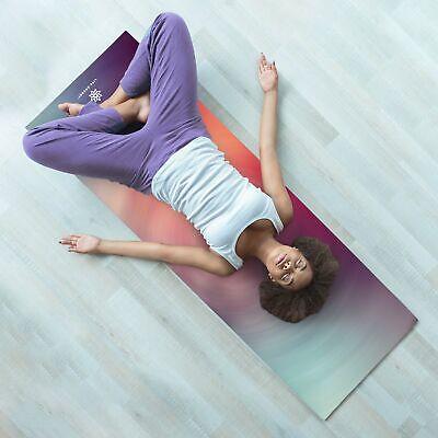 Life Energy 6mm Reversible Non-Slip Yoga Mat, Fitness, Exercise 3