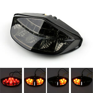 Integrated LED Tail Light Turn signals Fit DUCATI Monster 696 795 796 1100 SK UE