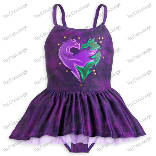 DISNEY Store SWIMSUIT for Girls DESCENDANTS 2 Piece Select Size NWT