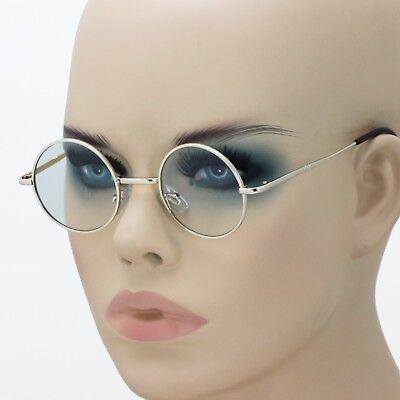 Hippies Glasses (New John Lennon Round Retro Metal Frame Clear Lens Eye Glasses Hippies 70s)