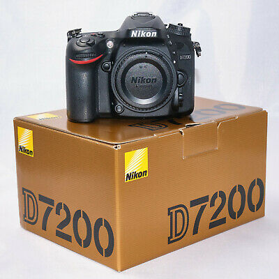 NIKON D7200 DSLR - Low shutter count