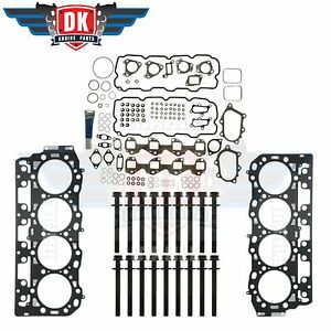 01-04 DURAMAX 6.6 LB7 HEAD GASKET KIT WITH HEAD BOLTS MAHLE