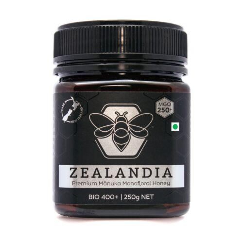 Zealandia Manuka Honey MGO 250+ (250g) Certified, Premium Quality, Free shipping