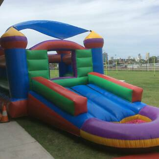 3 in 1 Combo Jumping Castle hire Helensvale Gold Coast North Preview