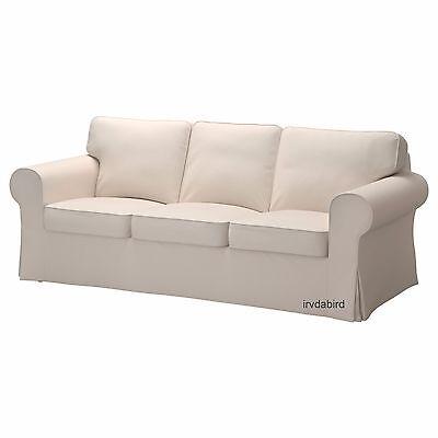 Ikea Slipcover For Ektorp Sofa  Lofallet Beige Cover  New  Sofa Not Included