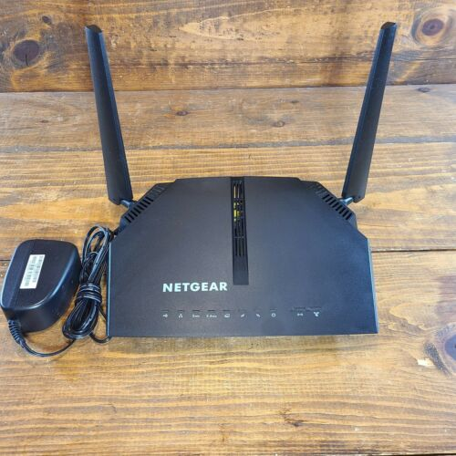 Netgear Model C6220 WiFi Cable Modem Router AC1200 Black