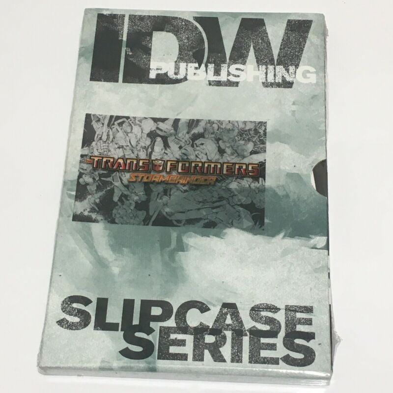 Transformers Slipcase series STORMBRINGER 1-4 RI-A Sketch variant new sealed