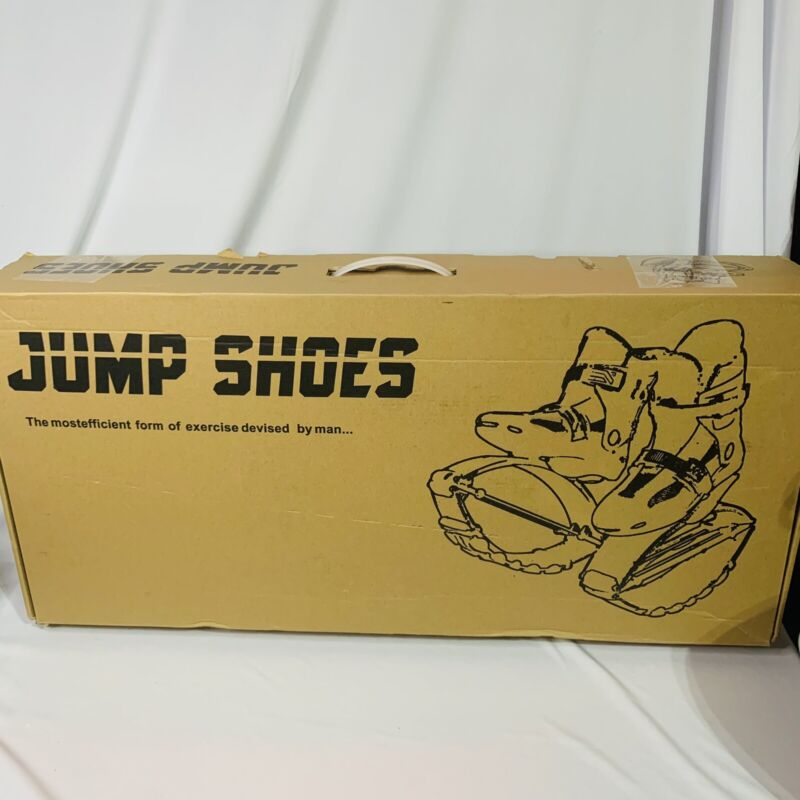 Spor 7 Jumping Kangaroo Shoes Unisex Fitness Workout Bounce Shoes Size 8Y