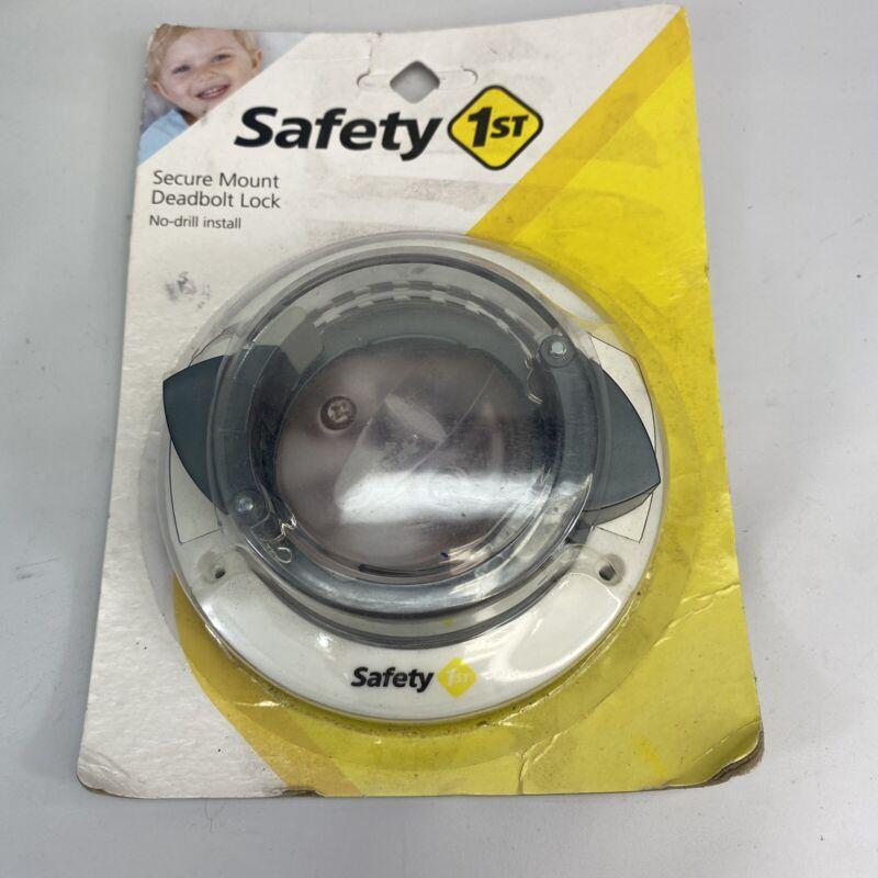 Safety 1st Secure Mount Deadbolt Lock No-drill Easy Fast install.