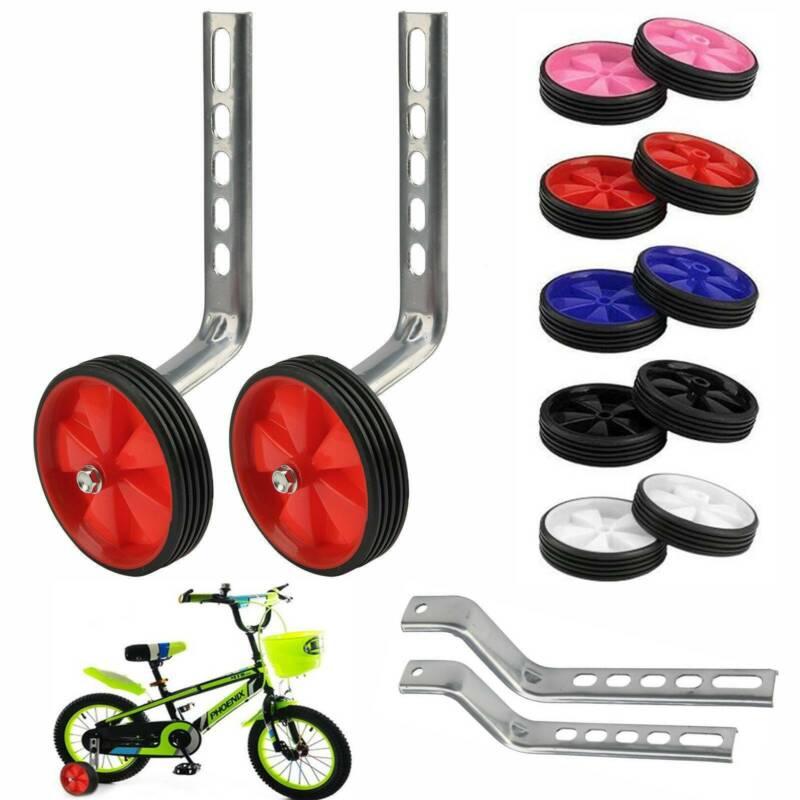 Kinder Fahrrad Schutzblech Set 12-16 Zoll Steckradschutz Spritzschutz DHL Black