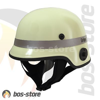 Feuerwehrhelm Dräger HPS 4500, H2, nachleuchtend, Feuerwehr Helm HPS4500, neu