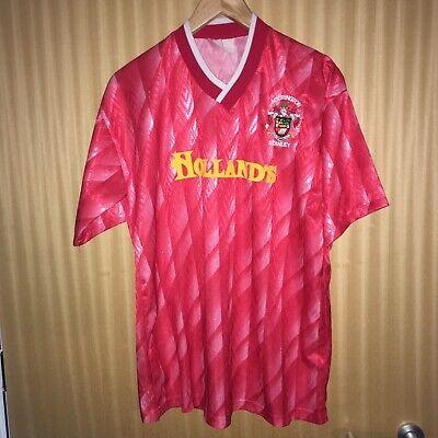 Original Vintage Accrington Stanley Home Shirt 1991-1992 Size M/L Great Conditio image