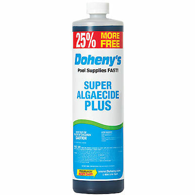 Doheny's Super Algaecide Plus - 40 oz Bottle