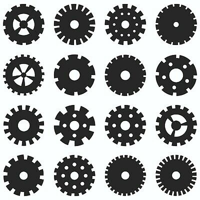 Gears Collection Dxf Sign Plasma Laser Waterjet Router Plotter Cut Vector Cnc
