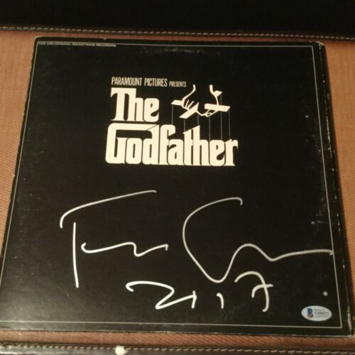 FRANCIS FORD COPPOLA SIGNED THE GODFATHER BECKETT COA AUTOGRAPHED