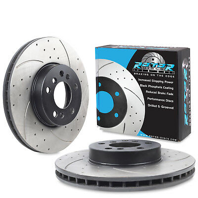 Fits BMW 4 Series Gran Coupe F36 420i Genuine Apec Front Vented Brake Discs Set