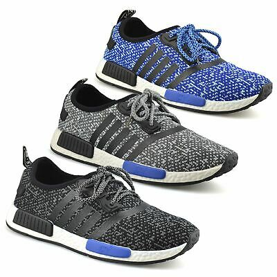 Mens Casual Breathable Mesh Lace Gym Sports Walking Running Trainers Shoes Size