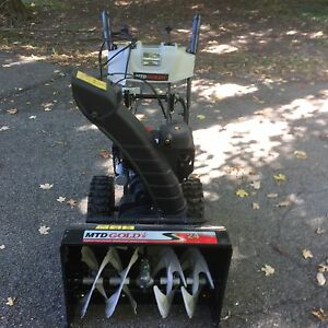 "2015 MTD 24"" Snowblower Kingston Kingston Area image 3"