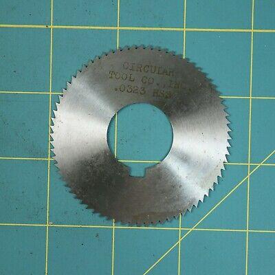 1one Slitting Slotting Saw Blade 0.0323 X 2-1116 Hss Machinist Cutting
