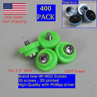 400X HP HDD Mounting Screws 6000 6005 Pro 8000 8100 EliteDesk ProDesk G1 G2 USFF comprar usado  Enviando para Brazil