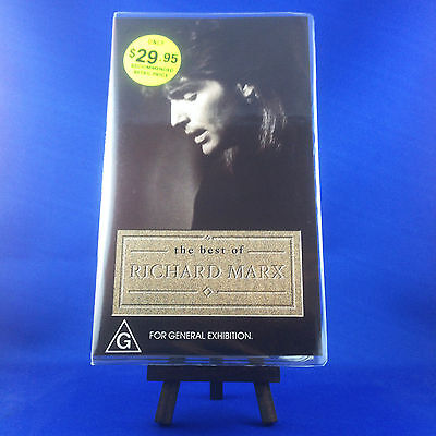 RICHARD MARX: The Best Of (OUT OF PRINT RARE VHS) 25 YEARS SINCE