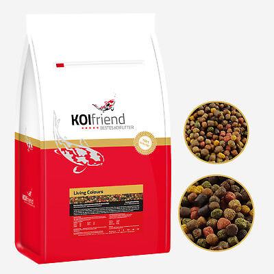 Koifutter 7,5 kg Living Colours 10 Sorten Mix Koi Fischfutter Spirulina Teich
