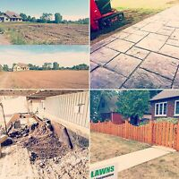 Landscaping, Grass Cutting and Excavation