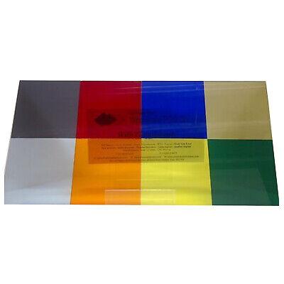 """5 pack CELL CAST ACRYLIC//PLEXIGLASS CLEAR  SHEET 1//4/"""" x 7.5/"""" x 7.5/"""" Sweet Deal"""