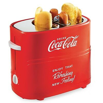 Hot Dog Toaster Pop-Up Cooker Coca-Cola Elite Cooking Electrics Motor Roller